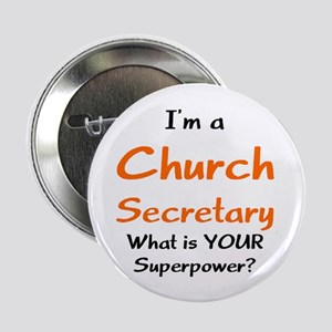 "church secretary 2.25"" Button"
