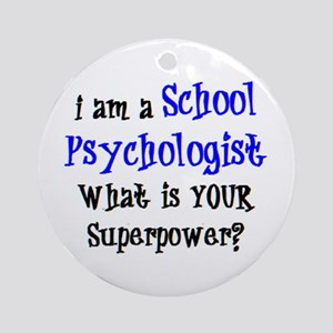 school psychologist Ornament (Round)