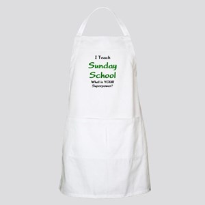 teach sunday school Apron