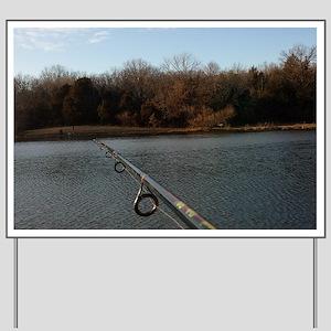 We Should Be Fishing. Fish Retro Tuna RC Yard Sign