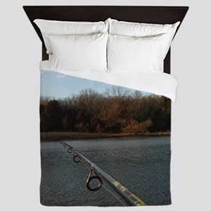 We Should Be Fishing. Fish Retro Tuna Queen Duvet