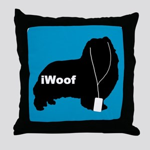 iWoof Sheltie Throw Pillow