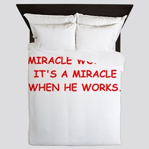 miracle worker Queen Duvet