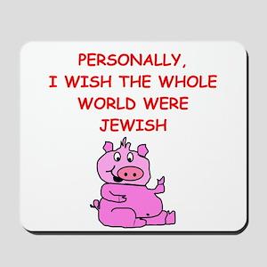 pig logic Mousepad