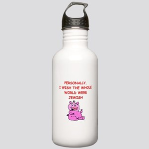 pig logic Water Bottle
