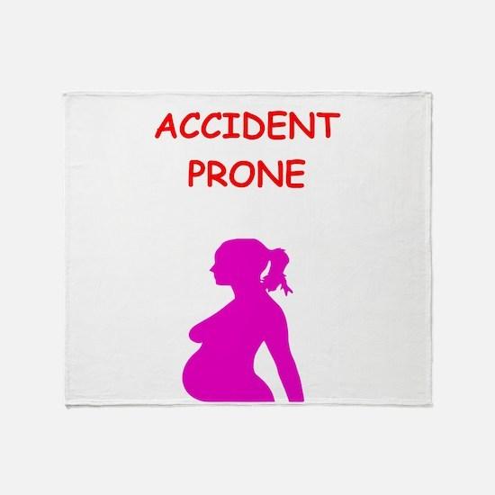 pregnant Throw Blanket