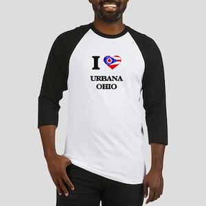 I love Urbana Ohio Baseball Jersey