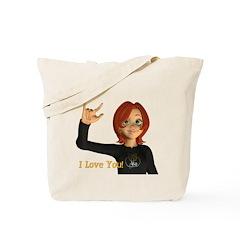 I Love You! - Jan Tote Bag