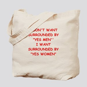 yes men Tote Bag