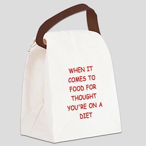 dumb Canvas Lunch Bag