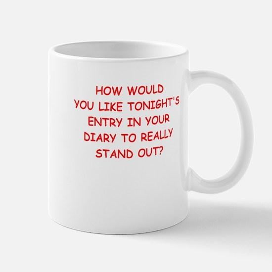 pick up line Mugs