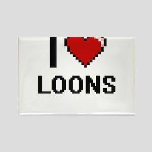 I love Loons Digital Design Magnets