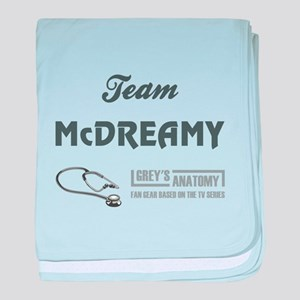 TEAM MCDREAMY baby blanket