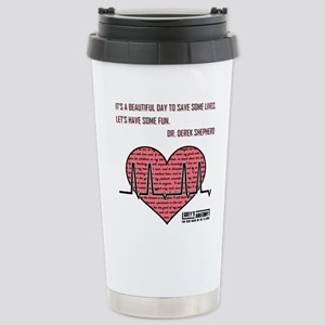 ITS A BEAUTIFUL... Travel Mug