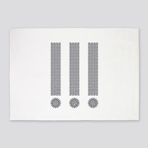 Exclamation Point 5'x7'Area Rug