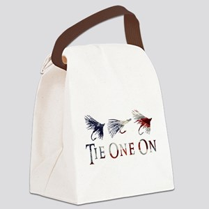 AMERICAN FLY FISHING Canvas Lunch Bag