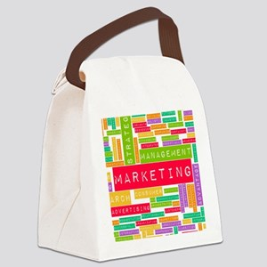 Branding and Marketing Canvas Lunch Bag