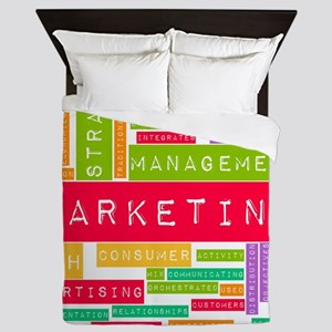 Branding and Marketing Queen Duvet