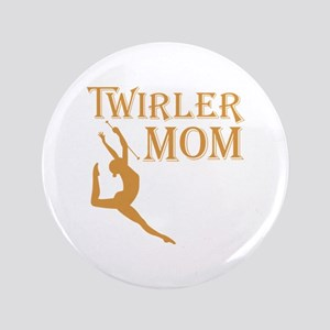 TWIRLER MOM Button