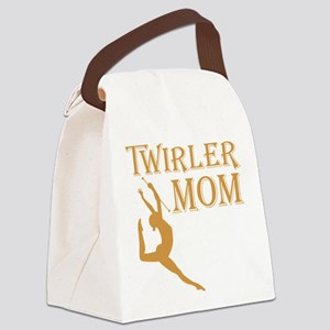 TWIRLER MOM Canvas Lunch Bag