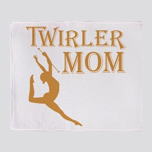 TWIRLER MOM Throw Blanket