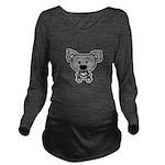 boy koala Long Sleeve Maternity T-Shirt