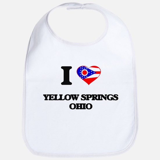 I love Yellow Springs Ohio Bib