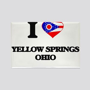 I love Yellow Springs Ohio Magnets