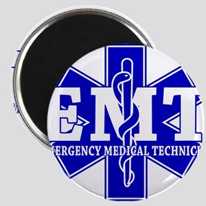 Star of Life (front) / Trauma Junkie (back) Magnet