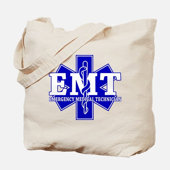 Star of Life (front) / Trauma Junkie (back) Tote B