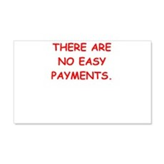 easy payments Wall Decal