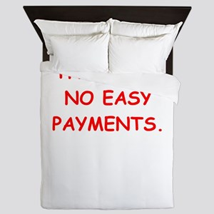 easy payments Queen Duvet