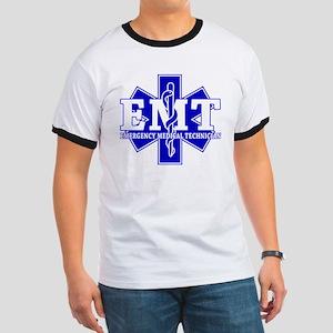star of life - blue EMT word T-Shirt