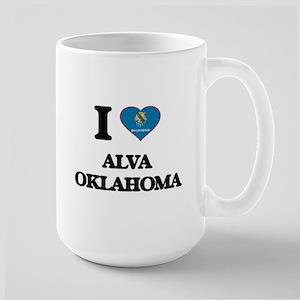 I love Alva Oklahoma Mugs