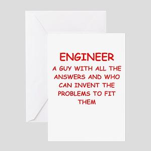 engineer Greeting Cards