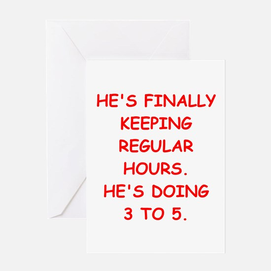 ex husband Greeting Cards