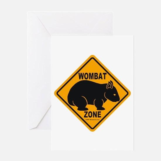 Wombat Zone Greeting Card