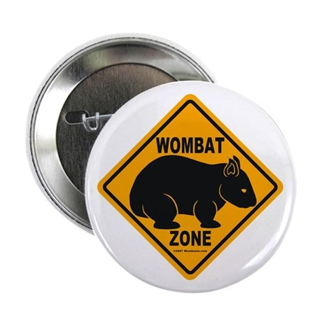 """Wombat Zone 2.25"""" Button (100 pack)"""