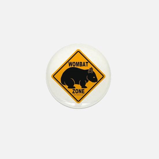 Wombat Zone Mini Button