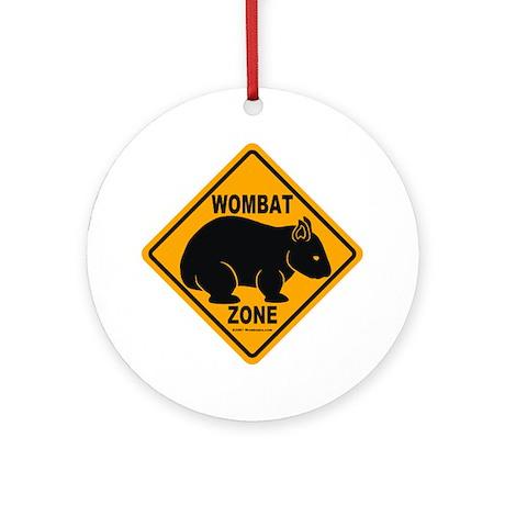 Wombat Zone Ornament (Round)