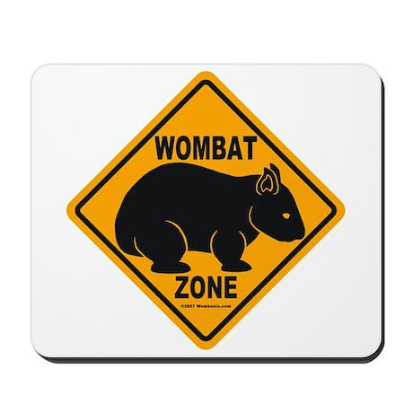 Wombat Zone Mousepad