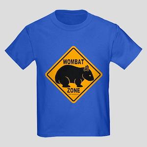 Wombat Zone Kids Dark Colored T-Shirt