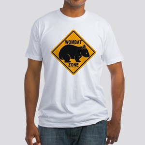 Wombat Zone Fitted T-Shirt