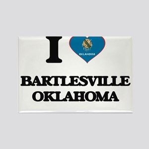 I love Bartlesville Oklahoma Magnets