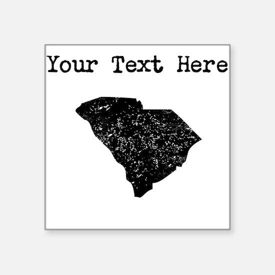 South Carolina Silhouette (Custom) Sticker