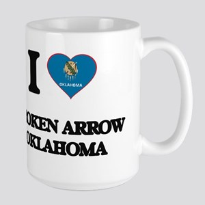 I love Broken Arrow Oklahoma Mugs
