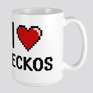 I love Geckos Digital Design Mugs