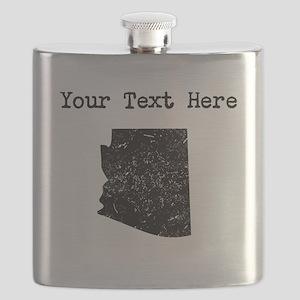 Arizona Silhouette (Custom) Flask