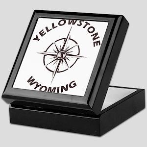 Yellowstone - Wyoming, Montana, Idaho Keepsake Box