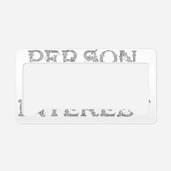 Person Of Interest License Plate Holder
